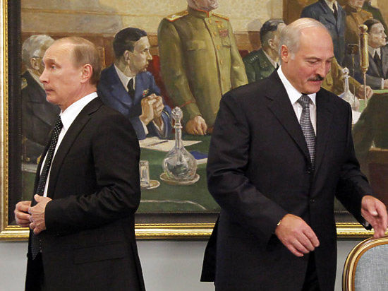 Как Лукашенко и Путин играют в прятки