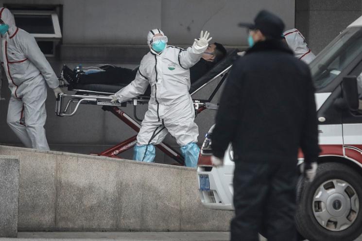 Люди падают замертво: шокирующие кадры из Китая (18+)