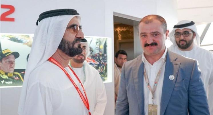 """За чей счёт праздник? Сыновья Лукашенко слетали в ОАЭ на Гран-при """"Формулы-1"""""""