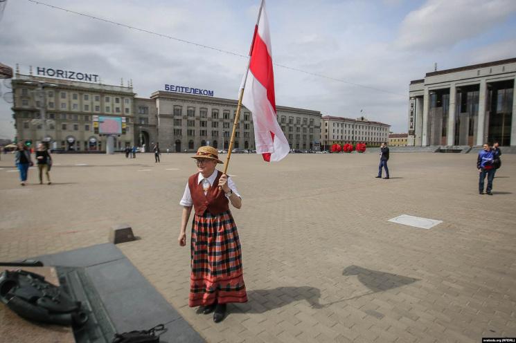Нина Багинская 'останется в новейшей истории Беларуси. Не все эти партии...'