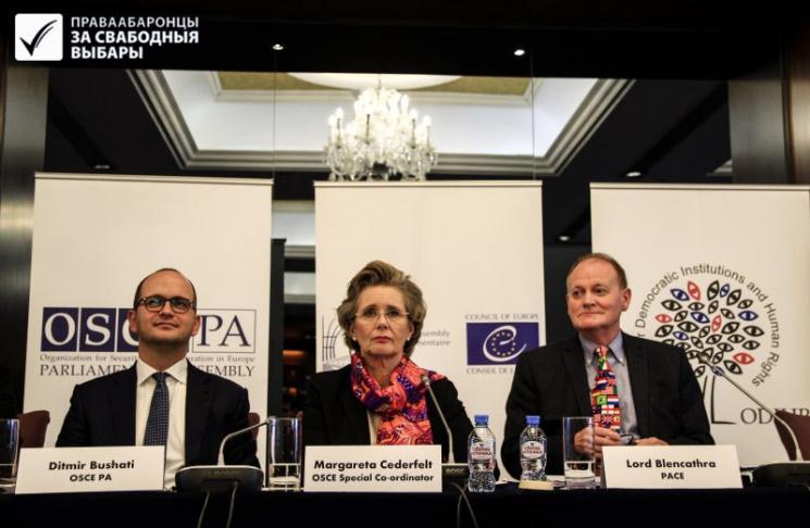 Выборы-2019: пять основных выводов международных наблюдателей