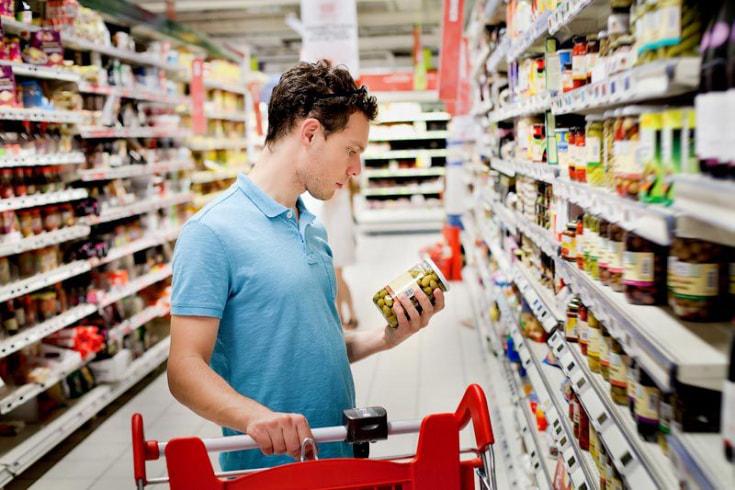 Стоимость продуктов в беларуси