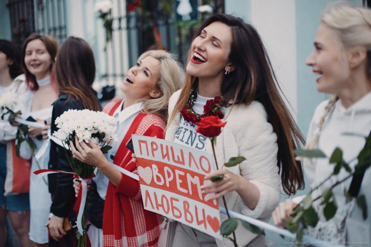 Красауцы против женщин: 38 белорусок признаны политзаключенными!