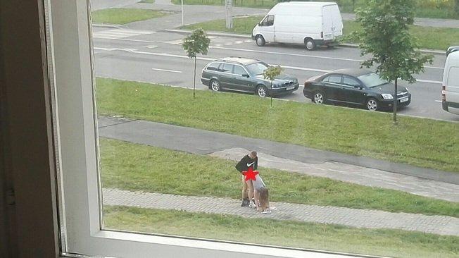 Курьезный секс на улице, госпожа и хабаровск секс