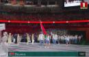 Сборная Беларуси вышла на парад открытия Олимпиады почти в конце: все дело в японским алфавите