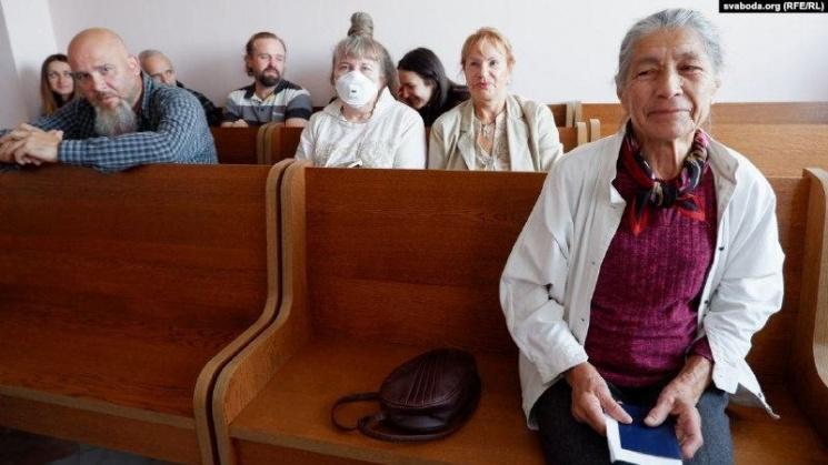 Они за ней вернулись через 78 лет: в Речице судили малолетнюю узницу нацистской тюрьмы