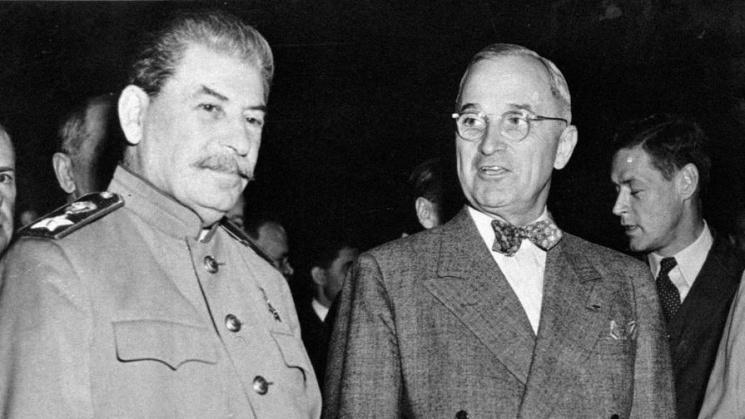 'Обрушится под своим весом': как Трумэн предсказал крах СССР