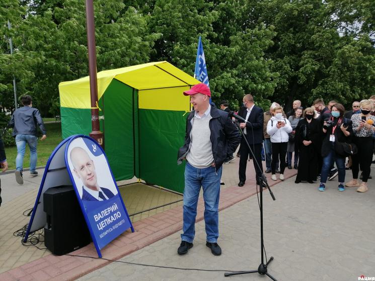 Валерий Цепкало: «Самая главная задача в Беларуси сейчас – изменить существующую систему власти»