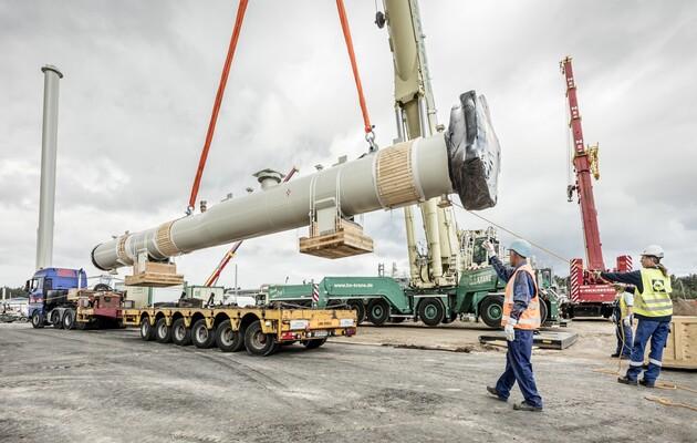 РФ  возобновила укладку труб газопровода «Северный поток-2»