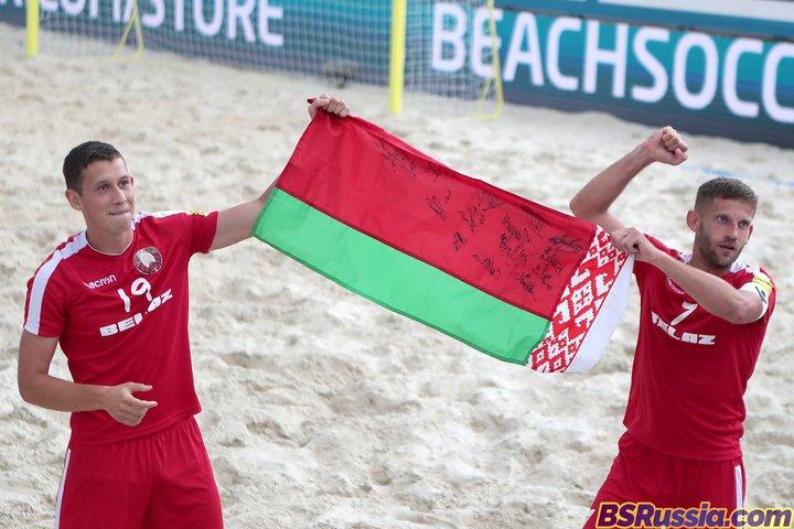 Беларусь заняла 3-е место вквалификации наКубок мира попляжному футболу