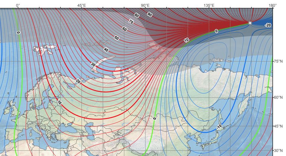Учёные сообщают, что магнитный полюс с небывалой скоростью движется к России